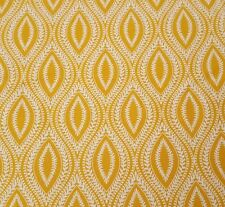 Hideaway BTY Waverly Quilting Treasures Golden Yellow Ovals Cotton Fabric