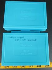 Thermo Scientific mBox Science Microscope Slide Storage Containers Lot of 2 GS