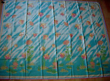 Jim Thompson Bath Wrap Towel Cotton Robe Cover Up -Light Blue - NWT