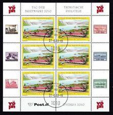 Briefmarken mit Eisenbahn-Motiven aus Österreich
