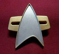 Star Trek The Next Generation Movie Uniform Communicator Pin Combadge Com Badge