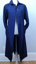 Fs Rainwear Coat Size 6P Womens Trench Rain Raincoat Women Blue Travel