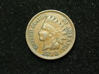 NEW INVENTORY COIN AU 1898 INDIAN HEAD CENT PENNY FULL LIBERTY & DIAMONDS #155h