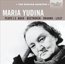 Maria Yudina Plays Bach, Beethoven, Brahms & Liszt (CD, Sep-2012, 3 Discs)