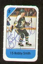 Bobby Smith signed autograph auto 1982-83 Post Cereal NHL Hockey Card