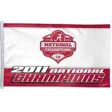 Alabama Crimson Tide 2011 National Champions 3'X5' Flag Brand New Wincraft