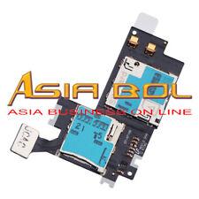 New Micro SIM SD Card Holder Reader Flex Cable Fr Samsung Galaxy Note 2 II N7100
