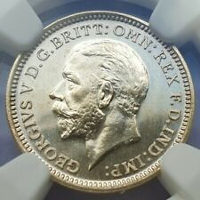 More details for 1927 king george v ngc pf 65 proof threepence.