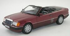 NOREV MERCEDES BENZ W124 300CE Cabriolet E Klasse Red Dealer 1:18 LE 500 Rare!