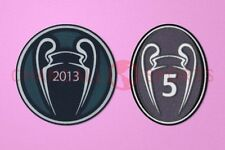 UEFA Champions League Winner 2013 + 5 Times Trophy Bayern München Patch / Badge