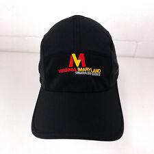 Virginia Maryland Triathlon Series light weight running hat black 5 panel hbx113