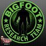 "Bigfoot Research Team ""GREEN"" Sticker - Sasquatch Yeti Car Truck Window Decal"