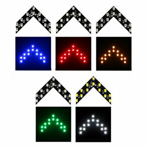 Auto 14SMD LED Lamp Turn Signal Light Accessories Car Side Rear View Mirror x2