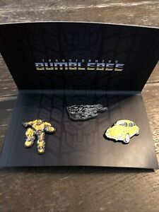 Bumblebee Transformers Boombox  3 Pin set Loot Crate Exclusive Autobot New