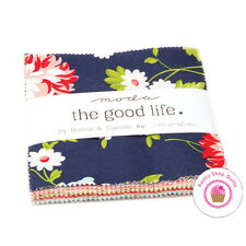 """Moda THE GOOD LIFE Bonnie & Camille CHARM PACK 42- 5"""" squares Quilting Fabric"""
