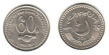 PAKISTAN 2011  LOT OF 10 COIN 20 Rs 60 YEAR PAKISTAN CHINA FRIENDSHIP WHOLESALE