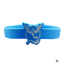 Pokemon Go Team Valor Mystic Instinct Wristband Silicone Bracelets Gift Hot LCF