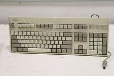 Genuine Fujitsu AT 5-Pin DIN Wired N860-8725-T501 FKB8726-501 Standard Keyboard