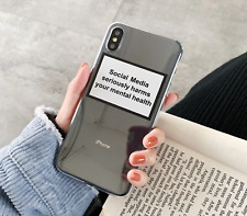 """""""Social Media"""" soft silicone case for IPhone Xs/Xs Max, Xr, 8, 7, 6, 6s"""