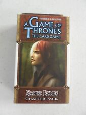 Game of Thrones LCG SACRED BONDS Chapter Pack NEW & SEALED