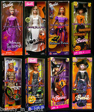 Boo-tiful Barbie Doll Halloween Princess Fortune Teller Glow Trick or Chic Hip