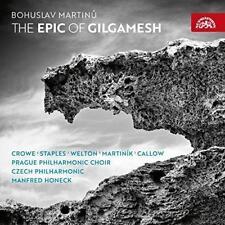 Martinu: The Epic Of Gilgamesh - Czech Philh Honeck Vasilek; Lucy Crowe (NEW CD)