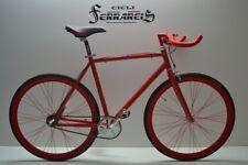 Fixed bike single speed bici scatto fisso nexus 3v rossa personalizzabile