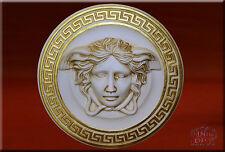 Wandrelief Relief 3d Medusa Mäander Bild Wandbild Skulptur Kunstharz