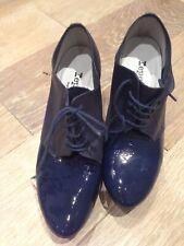 Gorgeous Repetto Navy Patent Shoe/boot Heels, EU 36/UK 3.5