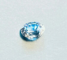 Blue White Sapphire 0.710 mined in Srilanka loupe clean substitute for Diamond