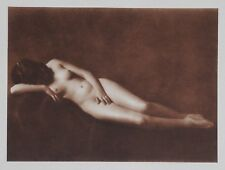 Nini & Carry Hess 1925 Photo Heliogravure 23x31cm Nude Nus Akt Czech Girl Prague