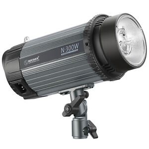 Neewer 300W 5600K Photo Studio Strobe Flash Light Monolight with Modeling Lamp
