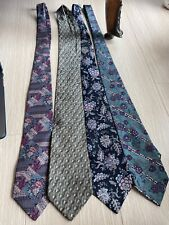 CHRISTIAN DIOR TIE LOT Of 7