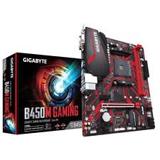 New listing Gigabyte B450M Gaming Motherboard Cpu Am4 Amd Ryzen Ddr4 Dvi Hdmi Vga Smart Fan