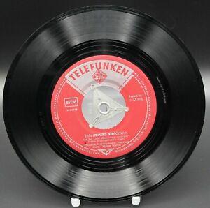 "Vinyl 7"" -Albert Lortzing / Pietro Mascagni –Holzschuhtanz/Intermezzo Sinfonico"