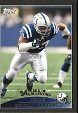 2009 Topps Black Indianapolis Colts Football Card #199 Dwight Freeney /54
