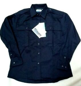 M Blauer Streetgear 8700W Uniform Shirt Police Navy EMT Tactical Security LS