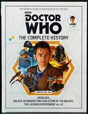 DOCTOR WHO THE COMPLETE HISTORY VOLUME 55 THE TENTH DOCTOR BOOK BBC 2015