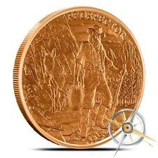 The Prospector - 1 oz Copper Bullion Round .999 Fine - FREE Shipping
