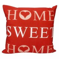 Creative Letter Printing Pillow Case Sofa Waist Throw Cushion Cover Home W4L4