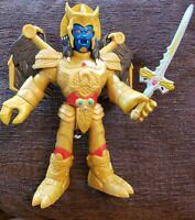 "DISNEY POWER RANGERS 2015 MATTEL 11"" VILLAIN GOLDAR ACTION FIGURE AND SWORD Toy"