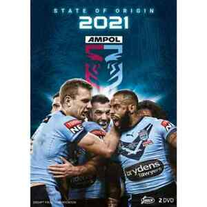 BRAND NEW State of Origin 2021 DVD - New South Wales Blues *PREORDER Queensland