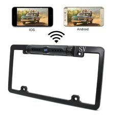 Car Backup Camera License Plate Wireless For iOS Android Device Van Rear View