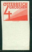 Österreich 1925 Portomarke Nr. 135 UR ungezähnt geprüft BPP