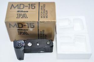 *UNUSED in Box* Nikon MD-15 Motor Drive For FA from JPN #1287