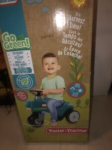 Little Tikes Go Green Tractor Ride-On