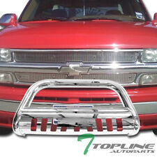 STAINLESS BULL BAR BUMPER GRILL GRILLE GUARD 1999-2006 2007 CHEVY SUBURBAN/TAHOE