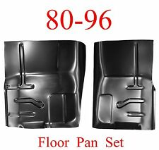 80 96 Floor Pan Set, Ford Truck & Bronco, Rust Repair Panel, F150, F250, F350