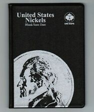Uni-Safe United States US Nickels 5 Cents Coin Album Folder Blank - No Date USA
