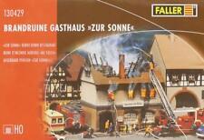 "Faller 130429 H0 - Brandruine Gasthaus "" Zur Sonne "" NEU & OvP"